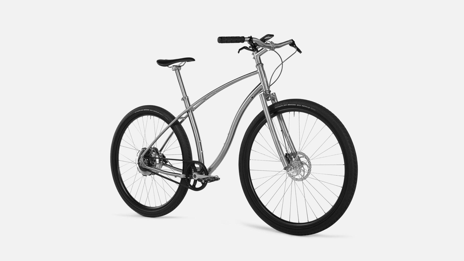 世界最軽量のチタン電動自転車「Budnitz Model E」