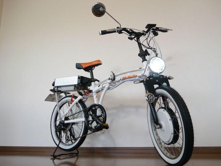 バッテリー切れでもこげる折りたたみ電動自転車ISOLA「Eサイクル」