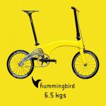 世界一軽い!6.5kgの超軽量折りたたみ自転車「Hummingbird」