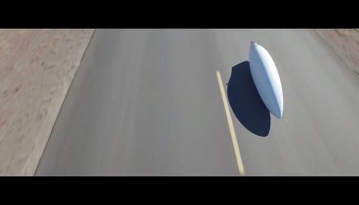 Aerovelo社の世界最速自転車なら時速144kmで走れます