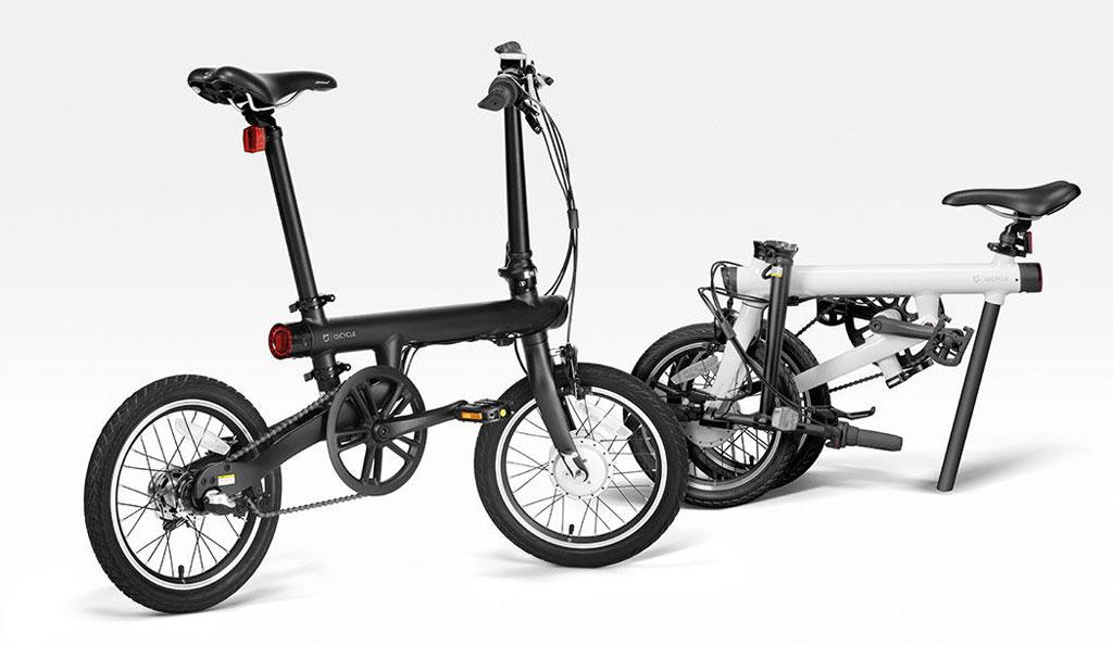 シャオミ驚異の10万円軽量電動折りたたみ自転車 QiCYCLE