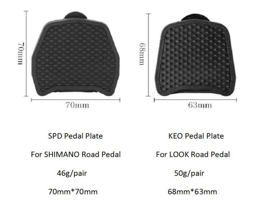 pedalplate spd look binding pedal5
