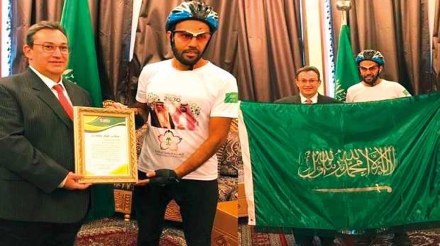 Saudi-cyclist