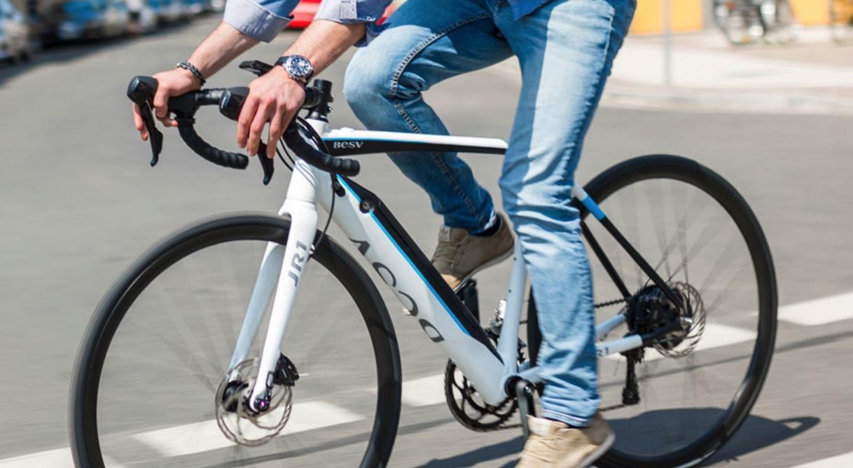 軽量電動ロードバイクBESV JR1【138km電動アシスト】