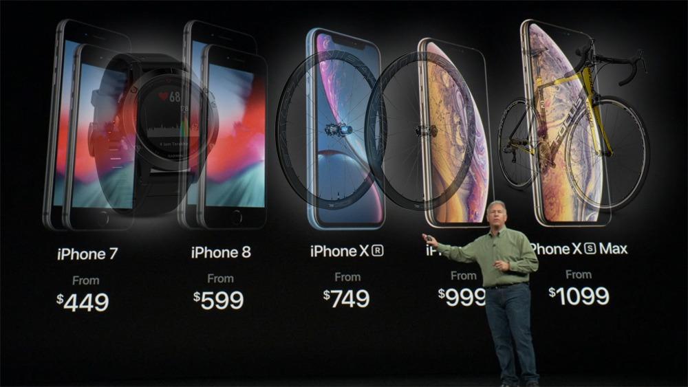 新型iPhone xrやxsを比較→自転車乗りが新型iPhoneを買わない理由