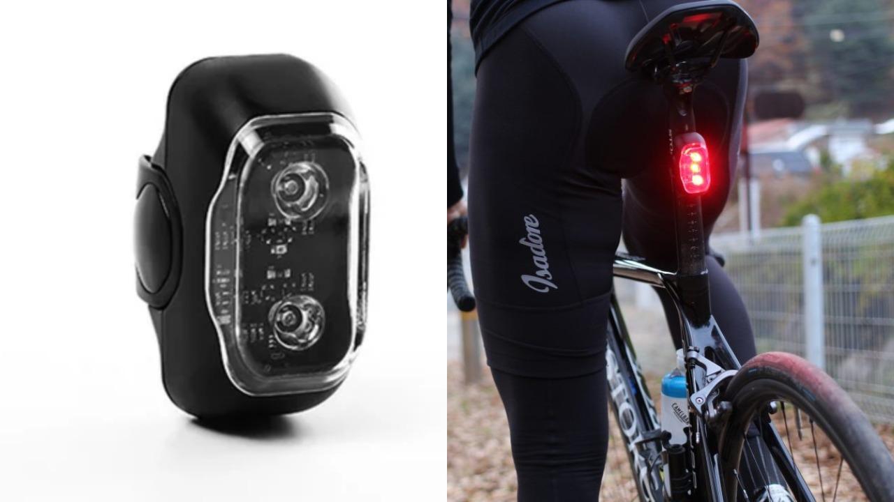 自転車用アラームライトCliq|盗難防止におすすめなスマートテールライト