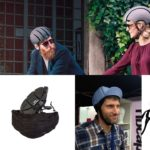 folding helmet cycling