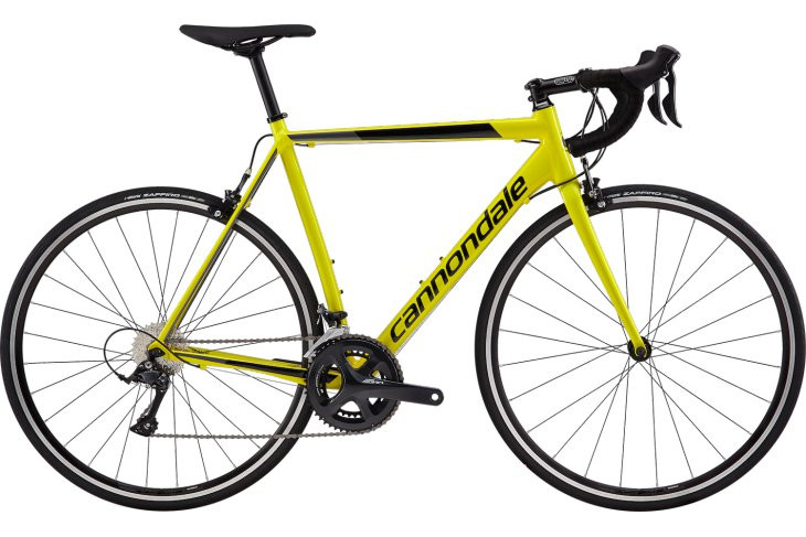 CANNONDALE CAAD OPTIMO 2019 yellow