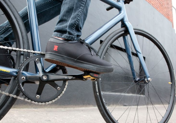 Chrome cycle shoes
