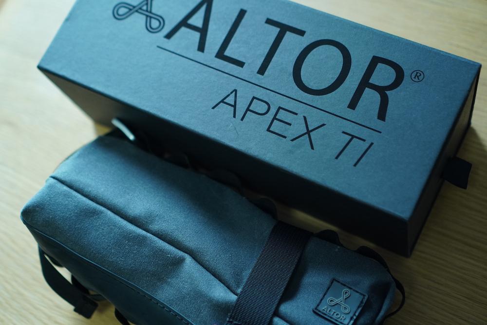 APEX TI 自転車鍵