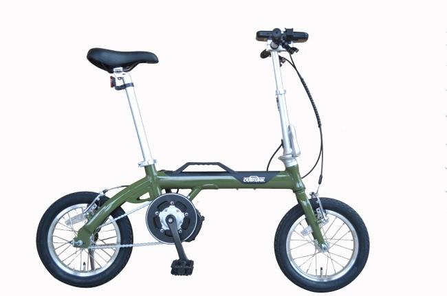 あさひアウトランクe 電動折りたたみ自転車