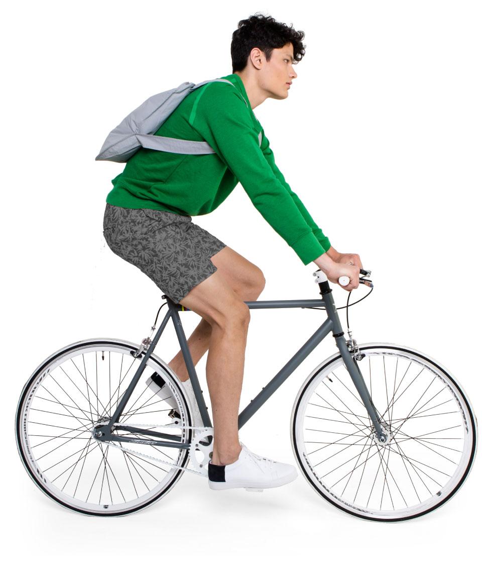 notabag エコリュックサック 自転車