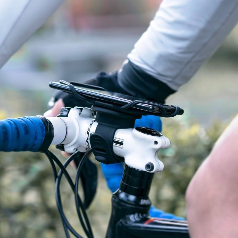 Tie Connect System bicycle smart phone holder 12