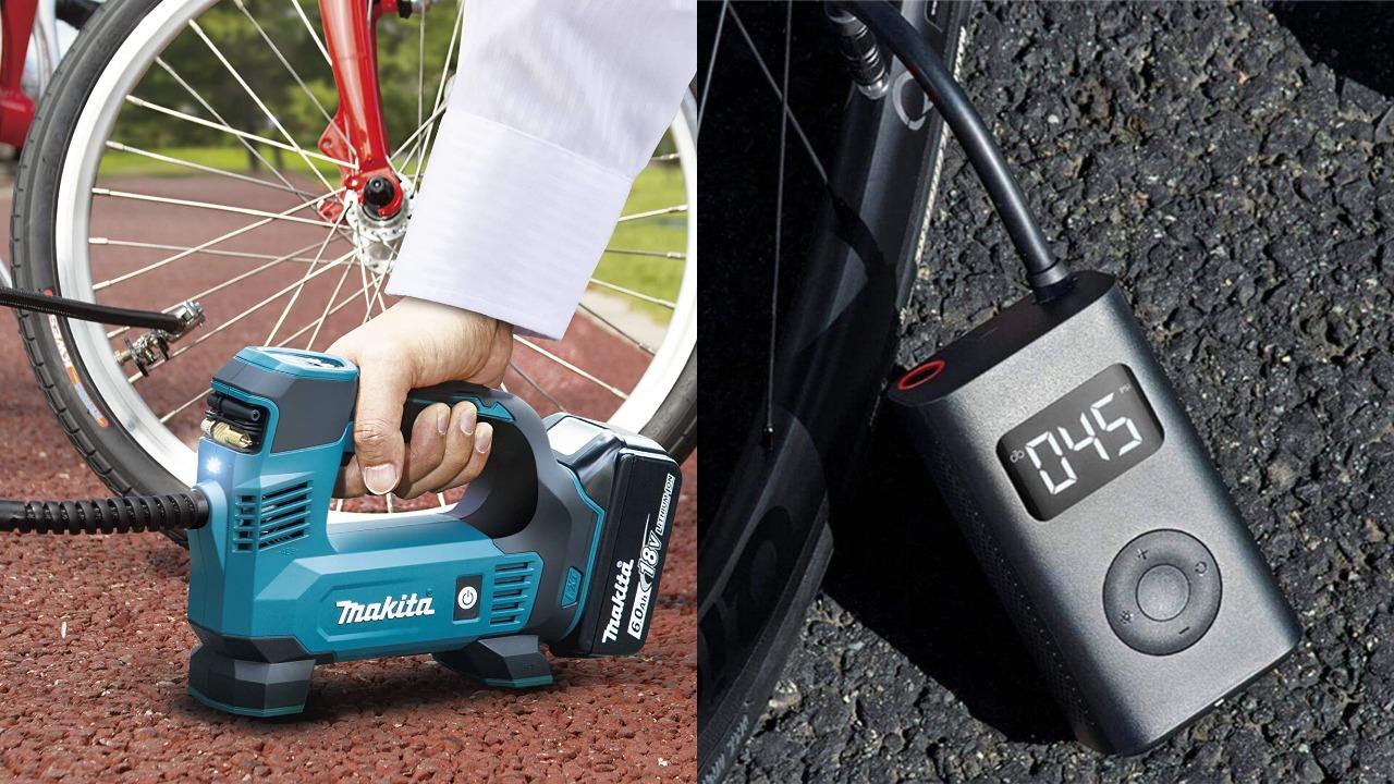 自転車の電動空気入れ4選|ロードバイクにもおすすめ