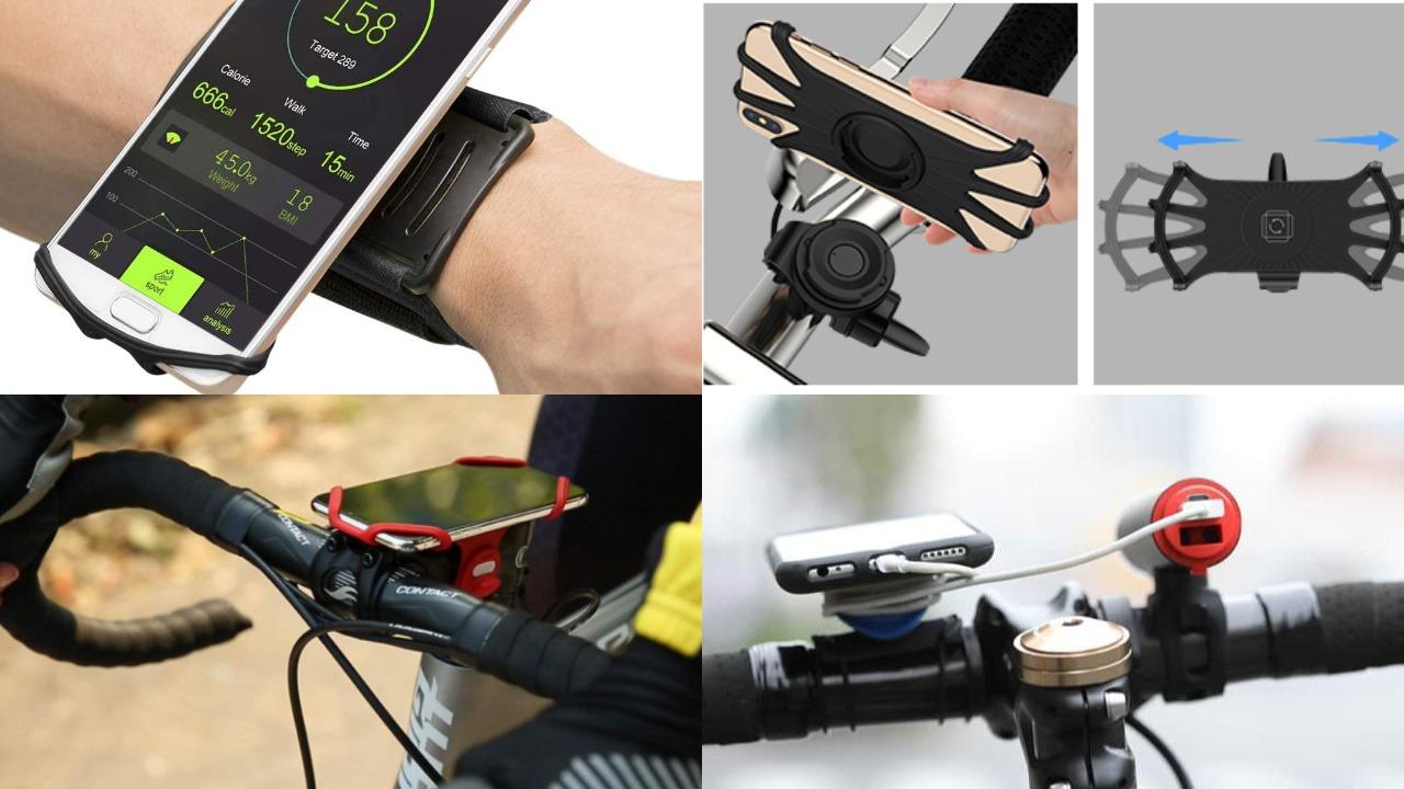 自転車スマホホルダーおすすめ10種類&選び方2021|固定力?片手?Qi充電?